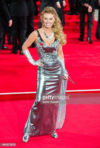 Kristina Wayborn attends the Royal Film Performance of Spectre at Royal Albert Hall on October 26 2015 in London England