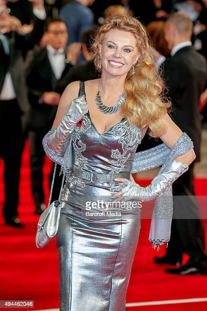 Kristina Wayborn attends the Royal Film Performance of 'Spectre' at Royal Albert Hall on October 26 2015 in London England PHOTOGRAPH BY PLehman /...