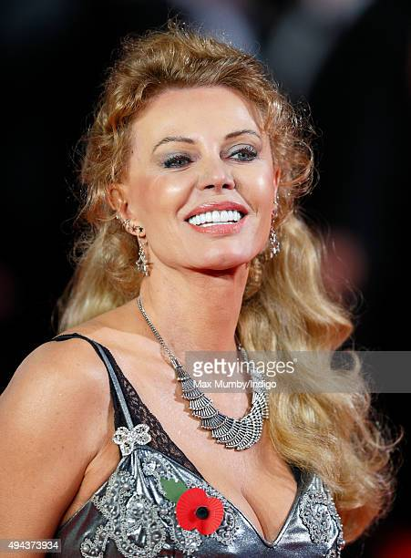 Kristina Wayborn attends the Royal Film Performance of 'Spectre' at The Royal Albert Hall on October 26 2015 in London England