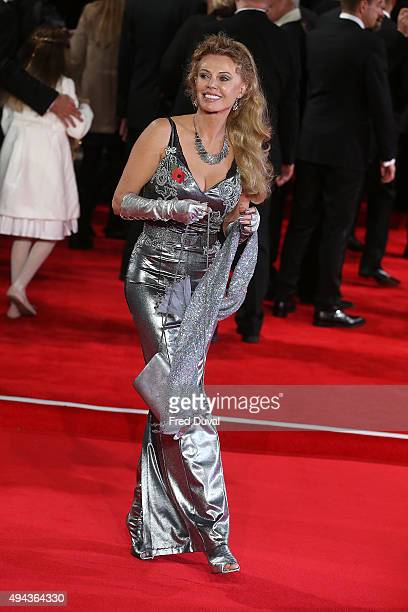 Kristina Wayborn attends the Royal World Premiere of Spectre at Royal Albert Hall on October 26 2015 in London England