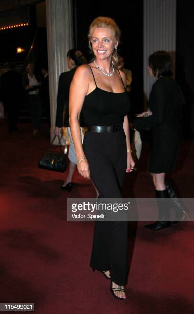 Kristina Wayborn during Opening Night of The Graduate Los Angeles at Whilshire Theatre in Beverly Hills California United States