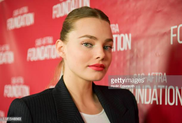 Kristine Froseth poses for portrait at the SAGAFTRA Foundation Conversations with Looking For Alaska at SAGAFTRA Foundation Screening Room on October...