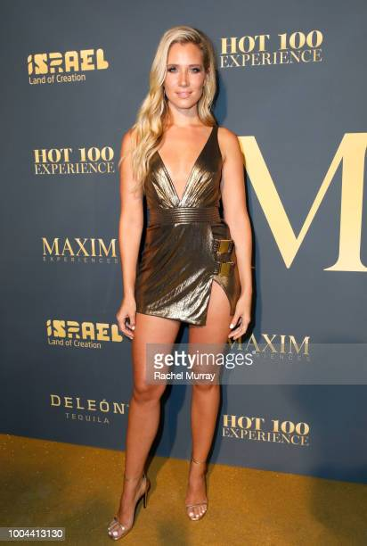 Kristine Leahy attends The 2018 Maxim Hot 100 Party at Hollywood Palladium on July 21 2018 in Los Angeles California