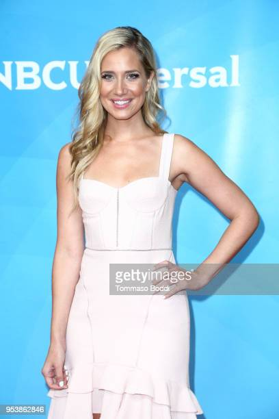 Kristine Leahy attends the NBCUniversal Summer Press Day 2018 at Universal Studios Backlot on May 2 2018 in Universal City California