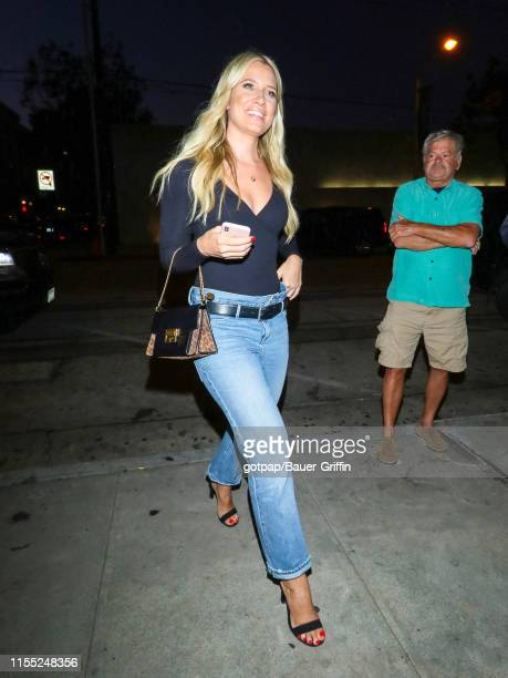 Kristine Leahy is seen on July 11 2019 in Los Angeles California