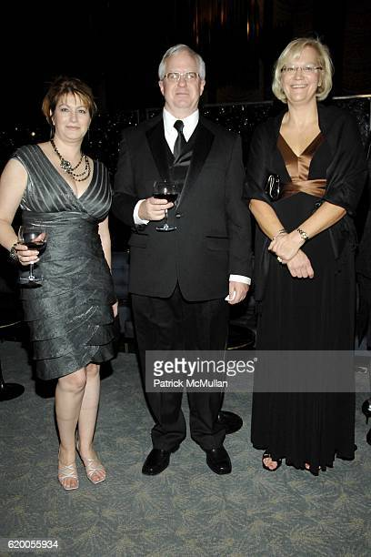Kristine Robak, Stephen Murphy and Caryl Churchill attend the French-American Foundation 2008 Gala at the Four Seasons Restaurant on November 18,...