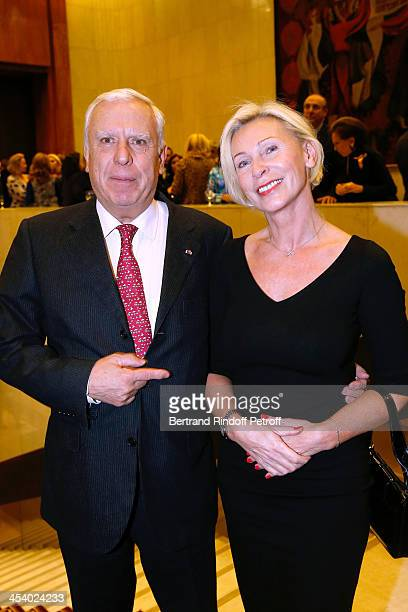 Kristo Kourteff and Natalia Descombes attending the celebration of 26 Years of Russian French Friendship by the 'Association of the Saint Vladimir'...