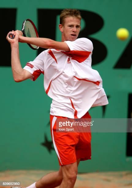 Kristof VLIEGEN - - Victoire contre Richard Gasquet - Roland Garros 2007,