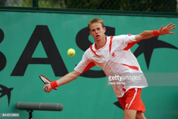 Kristof VLIEGEN / Guillermo CANAS - - Roland Garros 2007 - Jour 6 - Photo : Dave Winter / Icon Sport