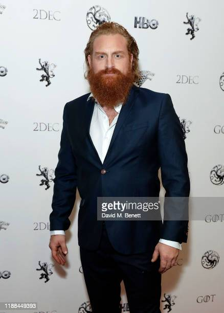 Kristofer Hivju attends Game Of Thrones A Celebration at BFI Southbank on November 18 2019 in London England
