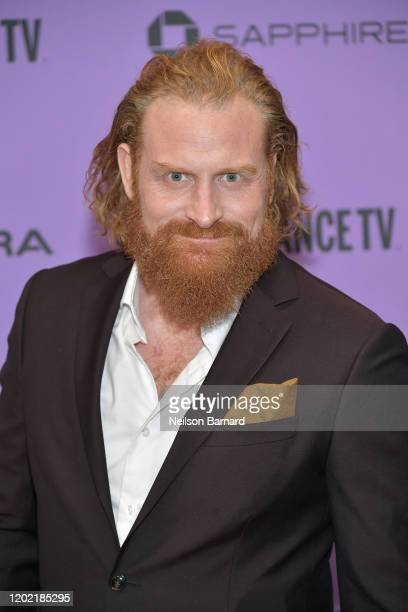 Kristofer Hivju attends the 2020 Sundance Film Festival Downhill Premiere at Eccles Center Theatre on January 26 2020 in Park City Utah