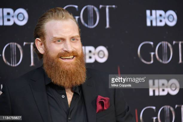 Kristofer Hivju attends the Game Of Thrones season 8 premiere on April 3 2019 in New York City