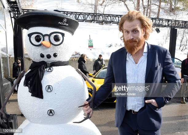 Kristofer Hivju attends the IMDb Studio at Acura Festival Village during Sundance Film Festival on January 25 2020 in Park City Utah