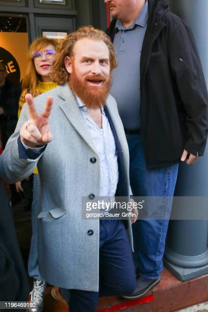 Kristofer Hivju is seen on January 25 2020 in Park City Utah