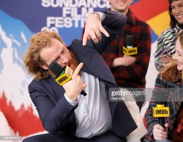 Kristofer Hivju of 'Downhill' attends the IMDb Studio at Acura Festival Village on location at the 2020 Sundance Film Festival – Day 2 on January 25...