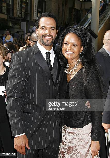 Kristoff St John and Tonya Lee Williams