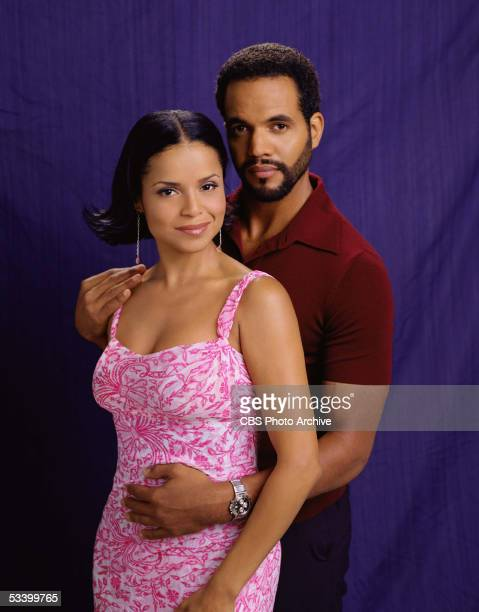 Kristoff St John and Victoria Rowell star as Neil and Drucilla Winters on the CBS daytime drama THE YOUNG AND THE RESTLESS on the CBS Television...