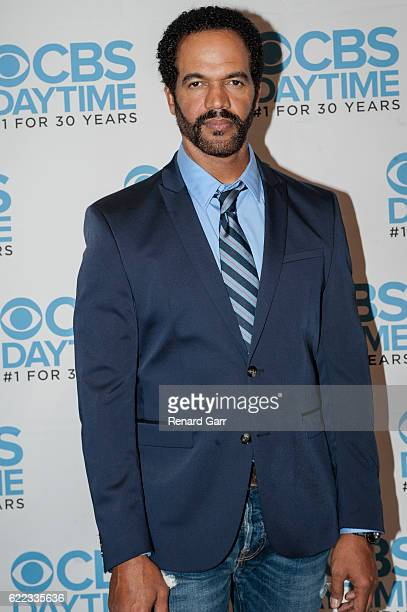 Kristoff St John attends The Young And The Restless Live Script Read And Panel at The Paley Center for Media on November 10 2016 in Beverly Hills...