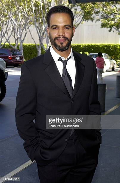 Kristoff St John during 30th Annual Daytime Emmy Awards Creative Arts Presentation at Universal Sheraton in Universal City California United States