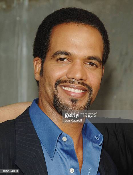 Kristoff St John during CBS Summer 2005 Press Tour Party at Hammer Museum in Westwood California United States