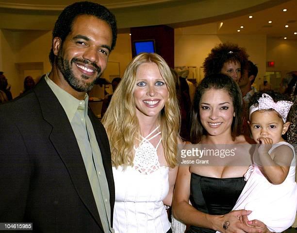 Kristoff St John with Lauralee Bell wife Allana and daughter Lola