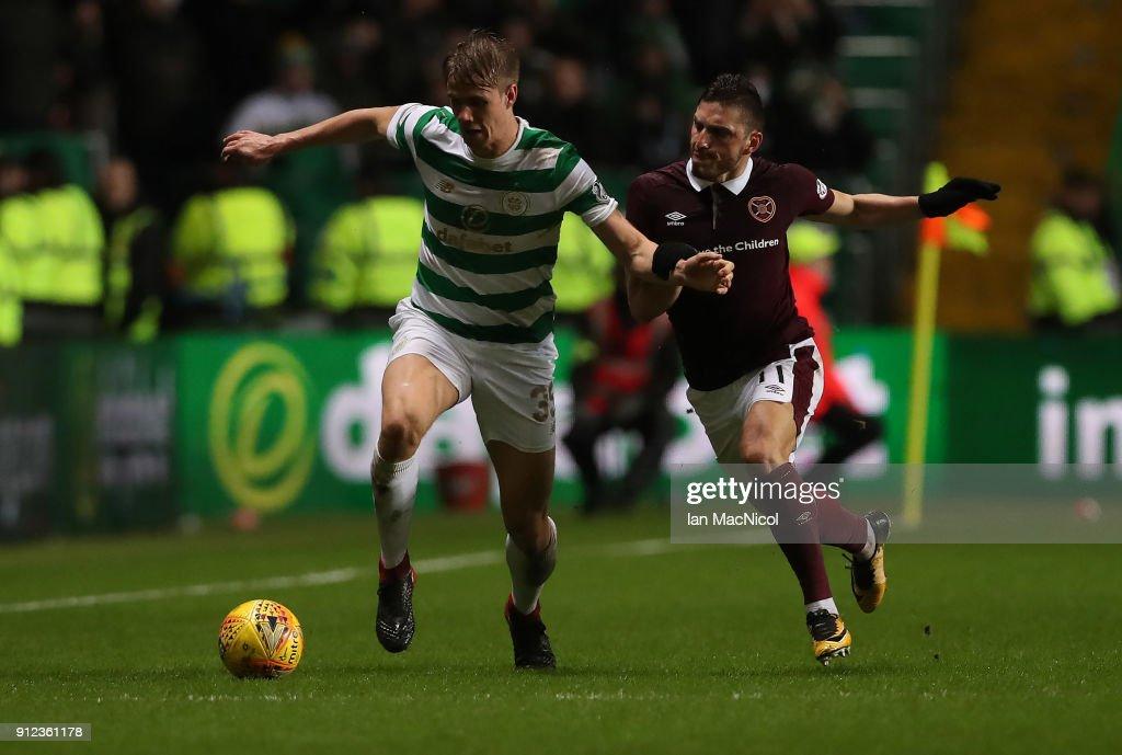 Celtic v Hearts - Scottish Premier League : News Photo