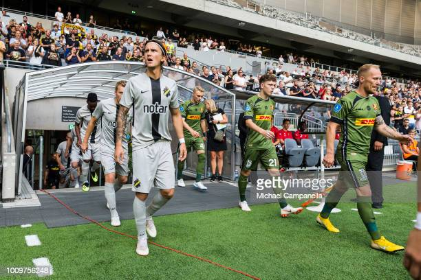 Kristoffer Olsson of AIK during a UEFA Europa League second qualifying round match between AIK and FC Nordsjaelland at Tele2 Arena on August 2 2018...