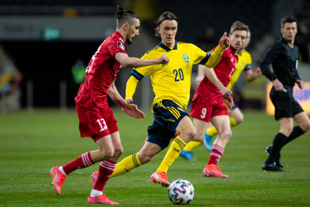 SWE: Sweden v Georgia - FIFA World Cup 2022 Qatar Qualifier
