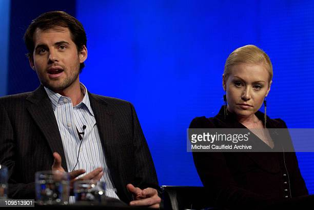 Kristoffer Polaha and Portia de Rossi during The 2003 National Cable Telecommunications Assn Press Tour Turner Broadcasting America's Prince The John...