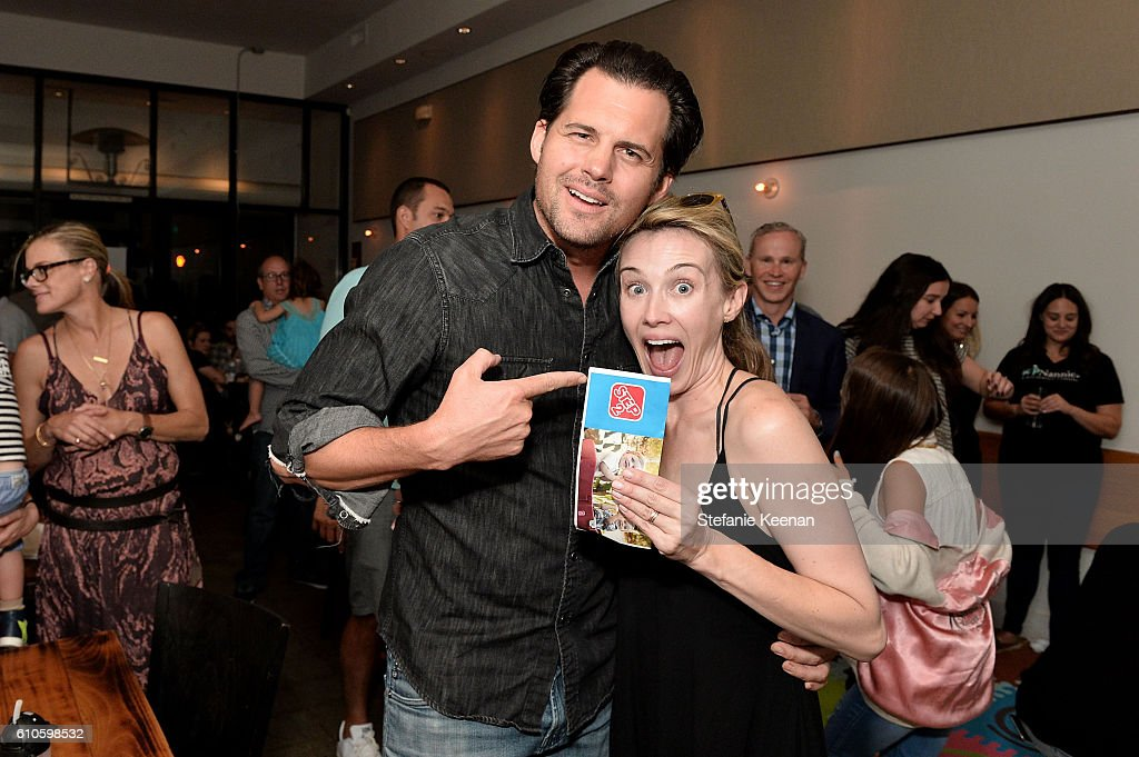 Step2's Launch Event of the Grand Luxe Kitchen Available Exclusively at Toys R US this Fall Hosted By Jon Shook and Shiri Appleby Benefiting Celebrate The Military Child : News Photo