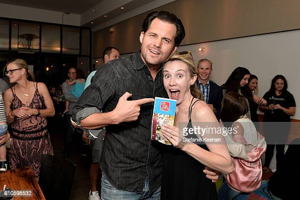 Kristoffer Polaha and Wynn Everett attend Step2's Launch Event of the Grand Luxe Kitchen Available Exclusively at Toys R US this Fall Hosted By Jon...