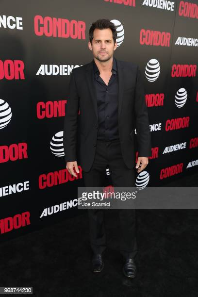 Kristoffer Polaha arrives at the ATT AUDIENCE Network Premiere of CONDOR at NeueHouse Hollywood on June 6 2018 in Los Angeles California