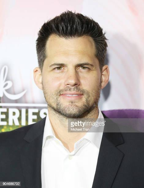 Kristoffer Polaha arrives to the Hallmark Channel and Hallmark Movies and Mysteries Winter 2018 TCA Press Tour held at Tournament House on January 13...