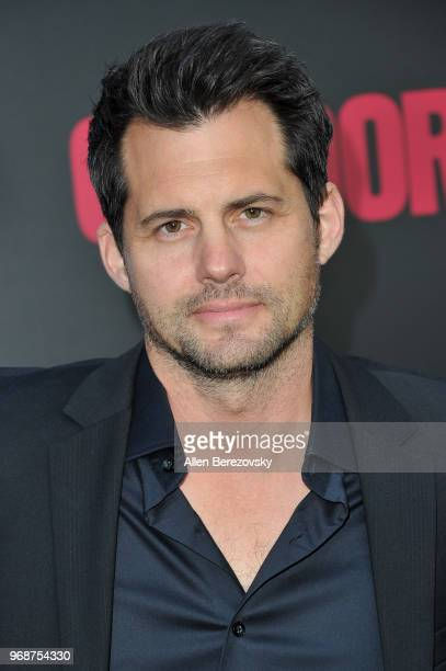 Kristoffer Polaha attends the premiere of ATT Audience Network's Condor at NeueHouse Hollywood on June 6 2018 in Los Angeles California
