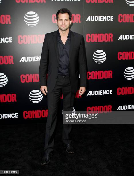 Kristoffer Polaha attends the premiere of ATT Audience Network's 'Condor' at NeueHouse Hollywood on June 6 2018 in Los Angeles California