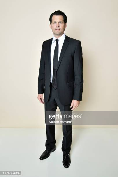 Kristoffer Polaha poses for a portrait in the Getty Images People Magazine Portrait Studio at Hallmark Channel and American Humanes 2019 Hero Dog...