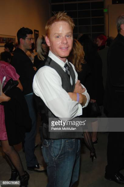 Kristoffer Winters attends JOHN WATERS REAR PROJECTION AT GAGOSIAN GALLERY BEVERLY HILLS at Gagosian Gallery on April 11 2009 in Beverly Hills...
