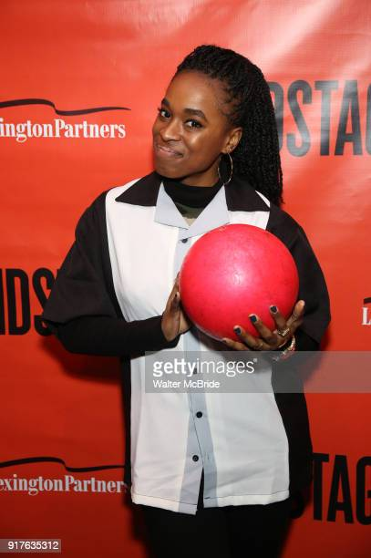 Kristolyn Lloyd attends the Second Stage Theatre 2018 Bowling Classic at Lucky Strike on February 12 2018 in New York City
