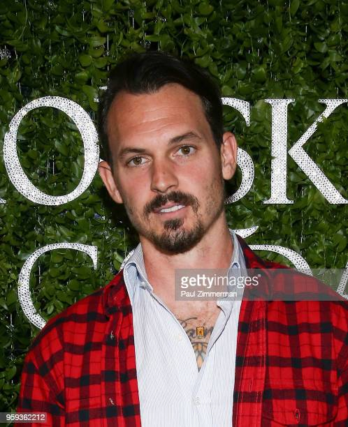 Kristopher Brock attends the 2018 CFDA Fashion Awards' Swarovski Award For Emerging Talent Nominee Cocktail Party at DUMBO House on May 16 2018 in...