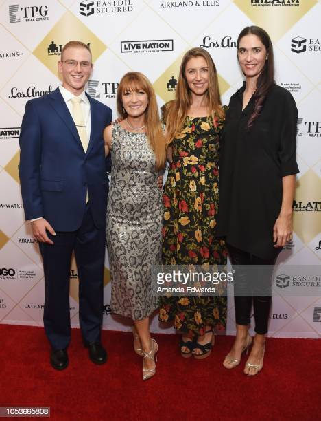 Kristopher Keach actress Jane Seymour Katherine Flynn and Jenni Flynn arrive at the Los Angeles Team Mentoring's 20th Annual Soiree at the Fairmont...