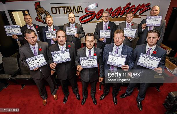 Kristopher Young Rob Cookson Martin Raymond Marc Crawford Jordan Silmser Chris Schwarz and Pierre Groulx Pierre Dorion Guy Boucher Daniel Alfrdedsson...