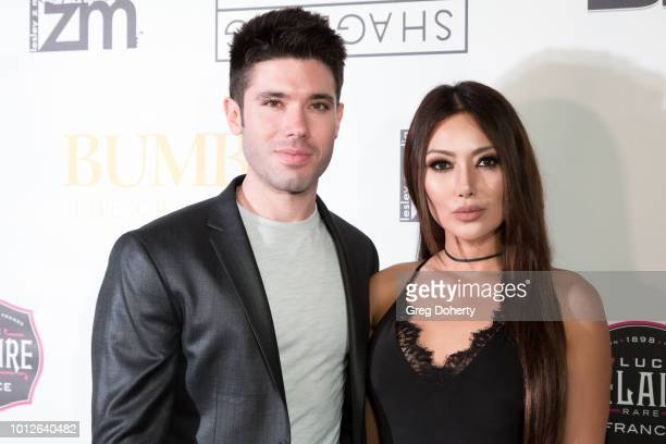 Kristos Andrews and Chasty Ballesteros attend George Jung's Birthday Celebration And Screening Of Blow at TCL Chinese 6 Theatres on August 6 2018 in...