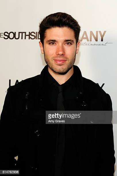 Kristos Andrews attends the 5th Annual LANY Entertainment Mixer at St Felix on March 10 2016 in Hollywood California