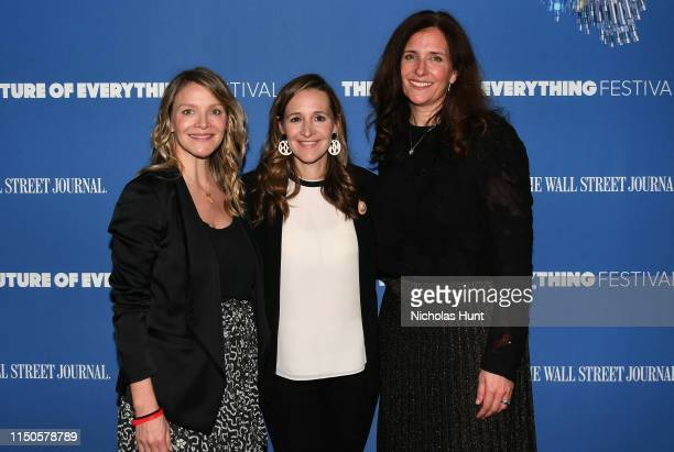 Kristy Caylor Founder and CEO of For Days Kerry Cooper President and COO of Rothy's and Alexandra Wolfe Reporter at The Wall Street Journal attend...