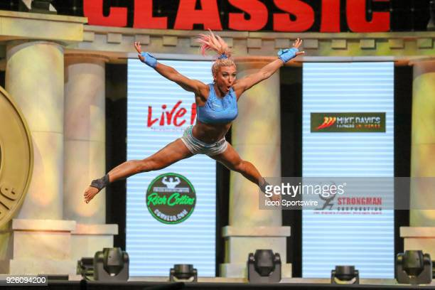 Kristy FensterAvery competes in Amateur Fitness at the Arnold Sports Festival on March 1 at the Greater Columbus Convention Center in Columbus OH