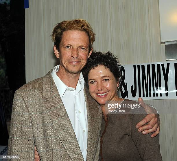 Kristy McNichol and Jimmy McNichol attends Day 1 of the Chiller Theatre Expo at Sheraton Parsippany Hotel on October 24 2014 in Parsippany New Jersey