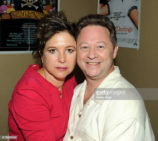 Kristy McNichol and Scott Schwartz attend 2016 Chiller Theatre Expo Day 1 at Parsippany Hilton on October 28 2016 in Parsippany New Jersey