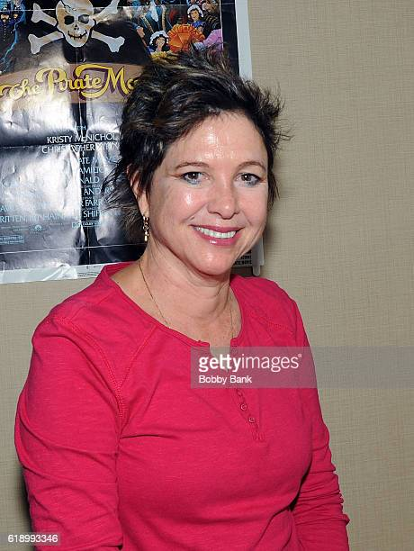 Kristy McNichol attends 2016 Chiller Theatre Expo Day 1 at Parsippany Hilton on October 28 2016 in Parsippany New Jersey