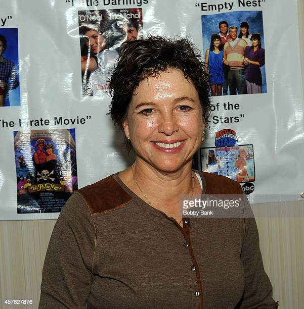 Kristy McNichol attends Day 1 of the Chiller Theatre Expo at Sheraton Parsippany Hotel on October 24, 2014 in Parsippany, New Jersey.