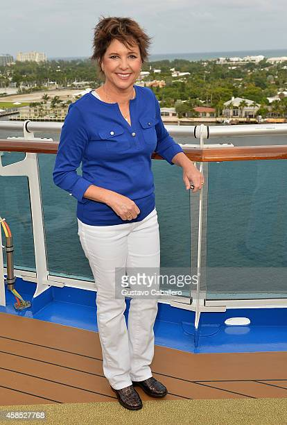 Kristy McNichol attends Love Boat Cast Christening Of Regal Princess Cruise Ship at Port Everglades on November 5 2014 in Fort Lauderdale Florida